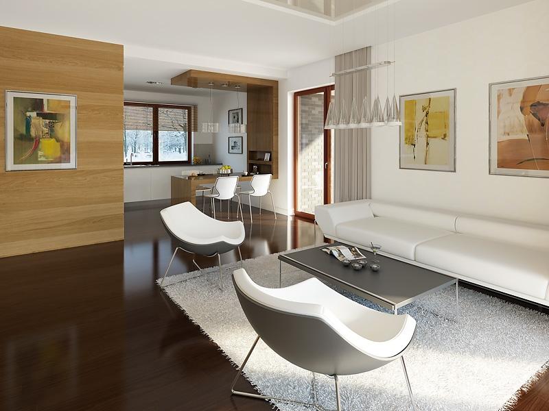 Projekt domu Amarant CE (TVU-835) - 121.3m²