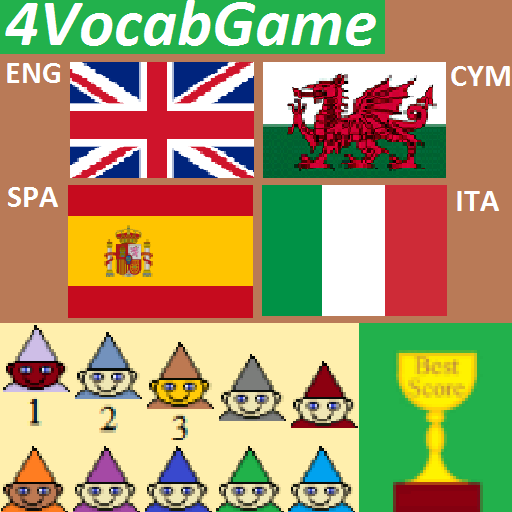4VocabGame English Welsh Spanish Italian (game)