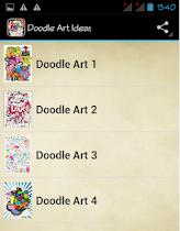 Doodle Art Ideas - screenshot thumbnail 01