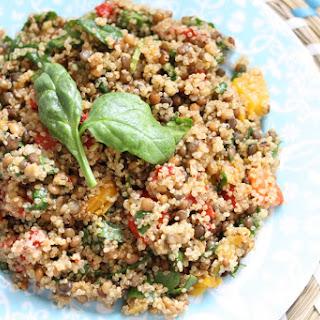 Lentil Quinoa Salad.
