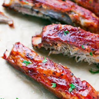 Oven Baked St Louis Style Ribs.