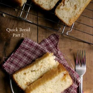 Quick Bread – Part 2 {flat top, regular loaf}
