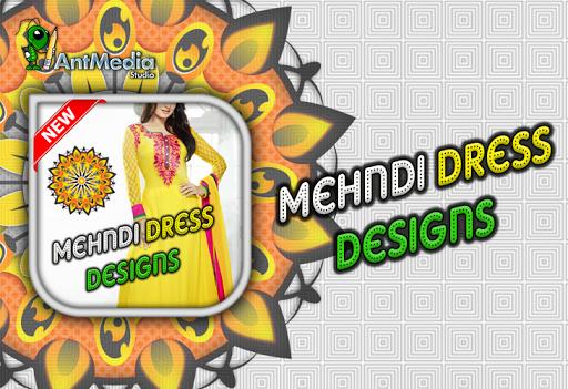 Mehndi Dress Design 2016