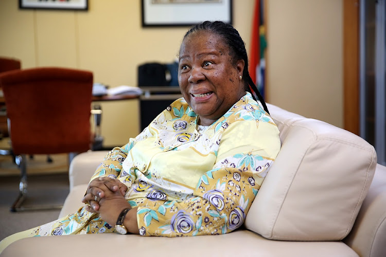 Higher Education Minister Naledi Pandor