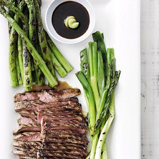 Beef Teriyaki Platter with Asparagus