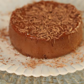 Mexican Chocolate Blender Flan.
