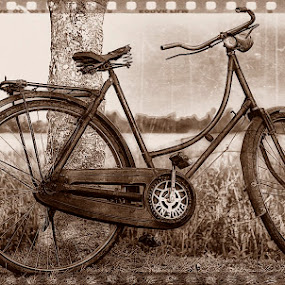 RETRO  BICYCLE by Fammz Fammudin - Artistic Objects Antiques ( artistic, bicycle, antiques )