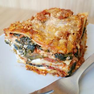 Easy No Boil Noodle Lasagna