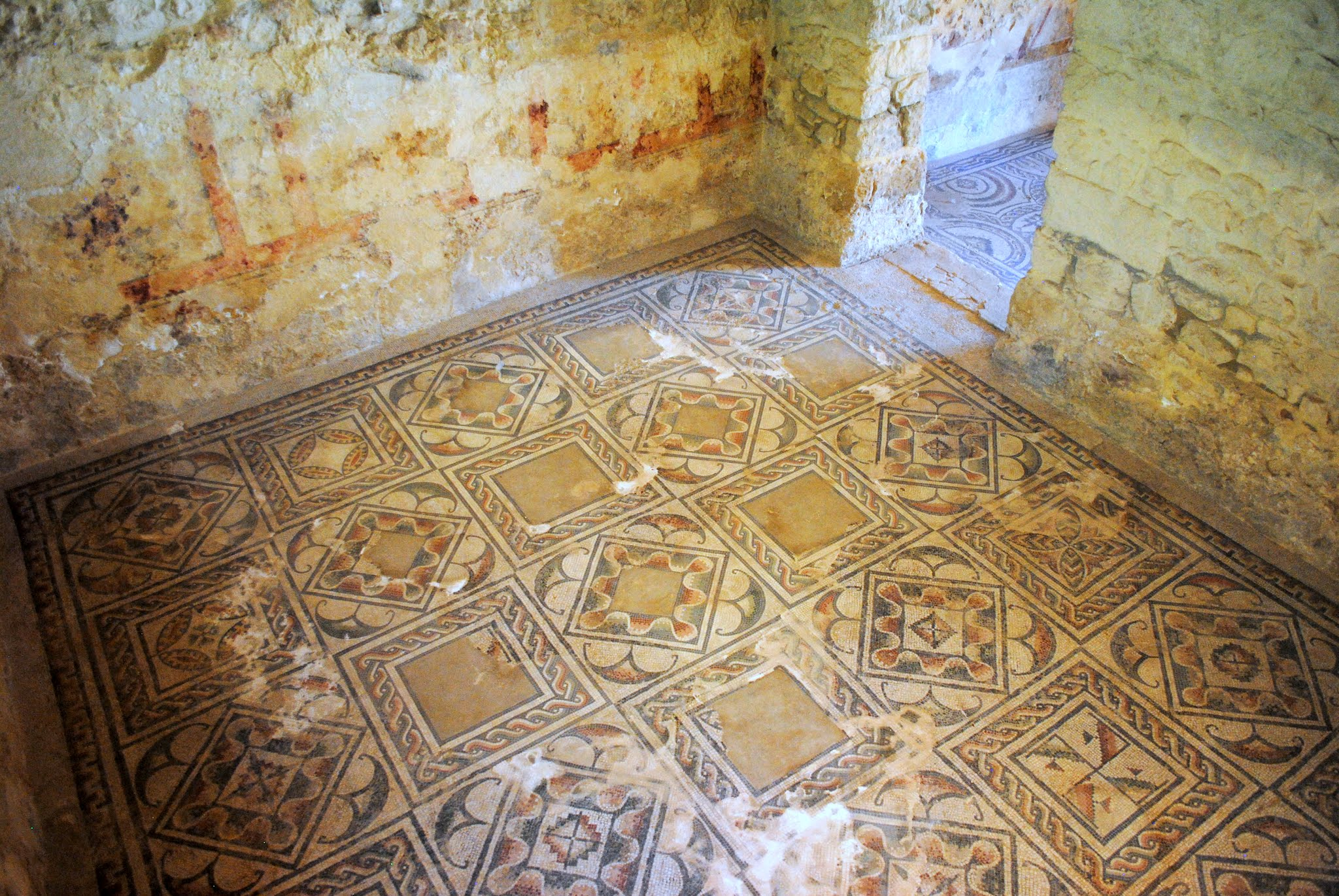 My Photos: Italy -- Mosaics -- Sicily -- Piazza Armerina -- Servant & Utilitarian Rooms
