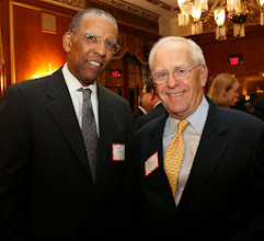 Photo: Brent Henry (Partners Healthcare) and Frank Moran.