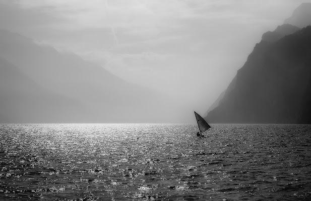 Foschia sul lago di Garda di _Marty_