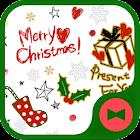 Christmas Very Merry Christmas icon