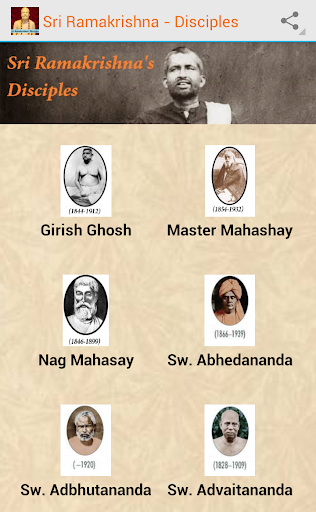 Disciples of Sri Ramakrishna