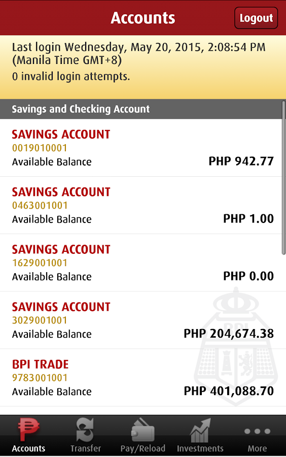 BPI- screenshot