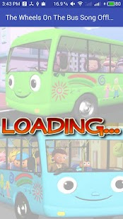 The Wheel On The Bus - Kids Offline Video Song - náhled