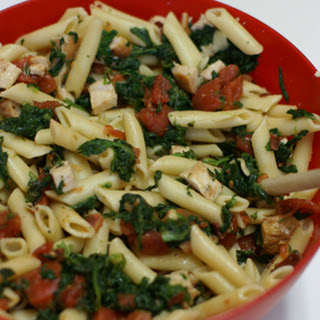 Chicken and Bacon Florentine Pasta
