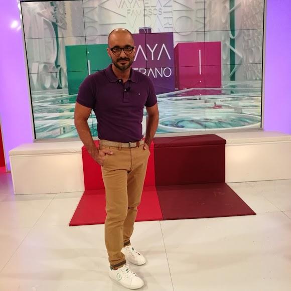 Sergio Morante en el programa Vaya Tela.