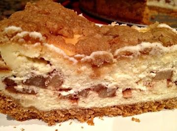 Apple Pie Stuffed Cheesecake Recipe