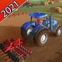 Real Modern Tractor Drive Simulator 2021 icon