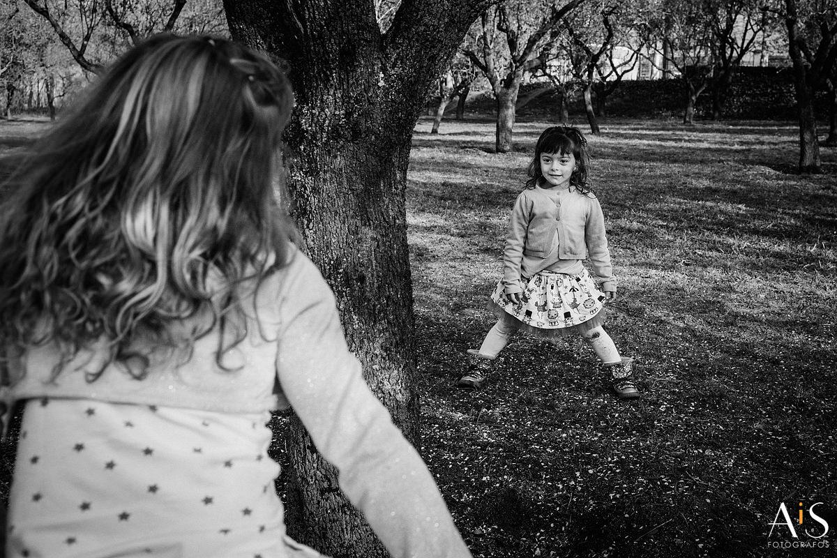 Fotos de familia, tiempo de juego