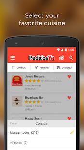 PedidosYa - Food Delivery- screenshot thumbnail