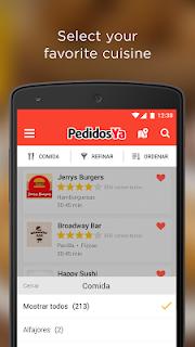 PedidosYa - Food Delivery screenshot 01