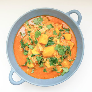 Mango Chicken Curry [Instant Pot + Slow Cooker].