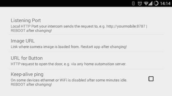 IP Intercom Doorbell - náhled