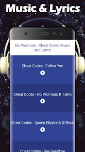 No Promises - Cheat Codes Songs & Lyrics - náhled
