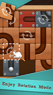 Roll the Ball: slide puzzle Capture d'écran