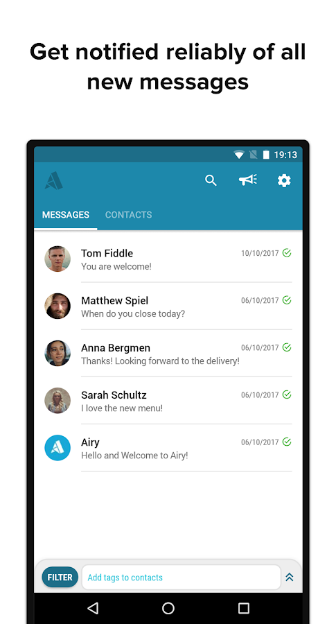 Airy Messenger - Customer Messaging for Businesses- screenshot