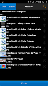 SimplyGest Móvil screenshot 3