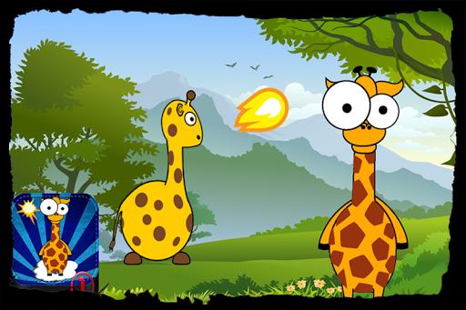 Talking Giraffe quad zoo farm