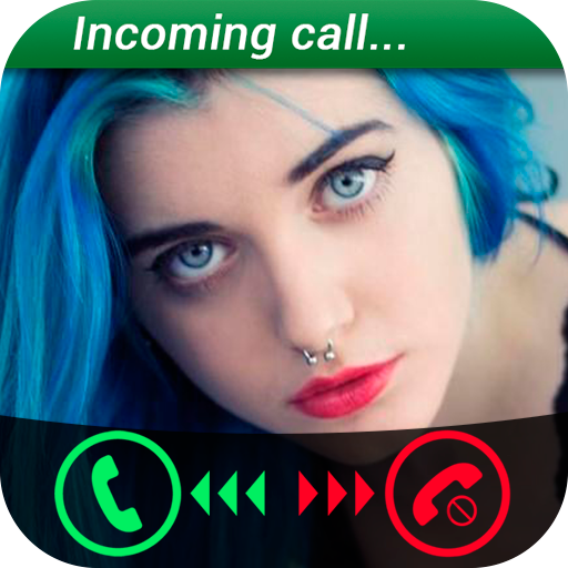 Fake Call Girls Simulator 娛樂 App LOGO-APP開箱王
