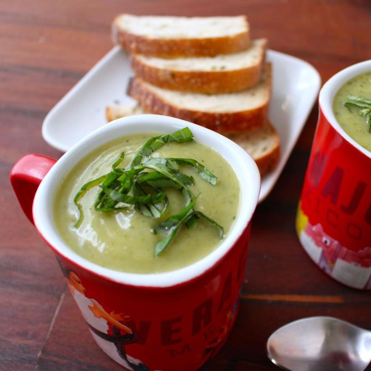 Zucchini Basil Soup Recipe | Yummly