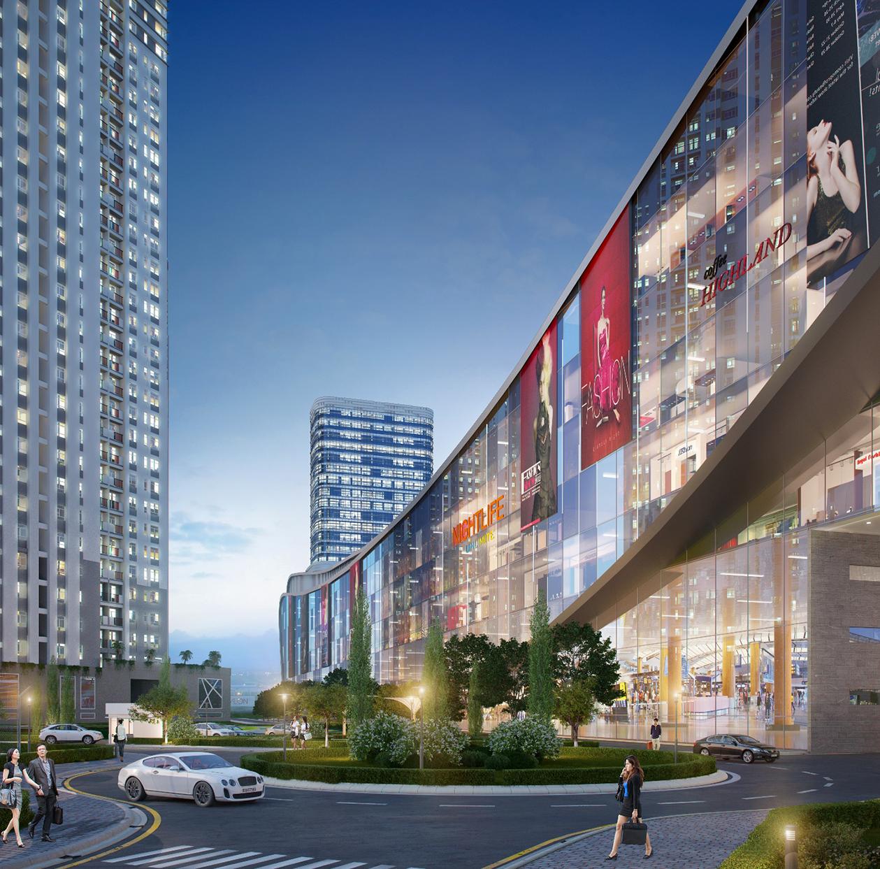 Trung tâm thương mại ở quận 2 - Vincom Mega Mall Thảo Điền