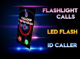 Color Screen Phone, Call Flash Themes - Calloop