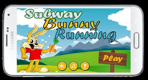 Subway Bunny Running