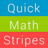 Quick Color Math Stripes