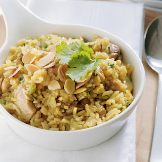 Chicken and Almond Pilaf