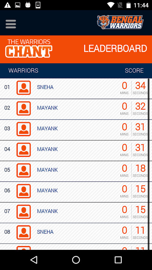 Bengal Warriors- screenshot