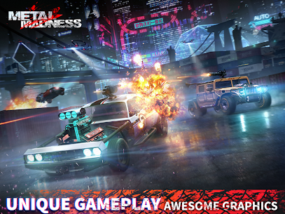 METAL MADNESS PvP: Car Shooter & Twisted Action 9