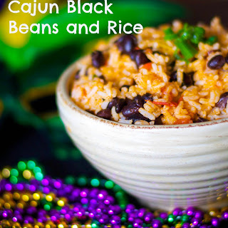 Cajun Black Beans and Rice