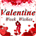 Valentine Week Wishes - Rose, Propose,Kiss,Teddy APK