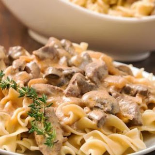 Whole Wheat Pasta in Mushroom Sauce Recipe
