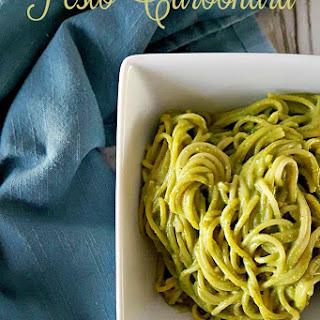 Pesto Carbonara