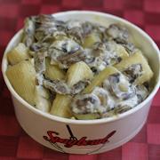Rigatoni Mushroom and Truffle (v)