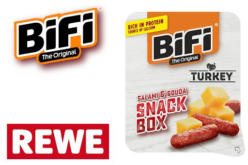 Bild für Cashback-Angebot: Die BiFi Snack Box Turkey - Bifi