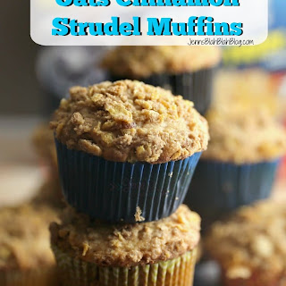 Honey Bunches of Oats Cinnamon Strudel Muffins.