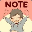 Frank-remark Sticky Note icon